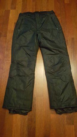 Spodnie narciarskie męskie czarne rozmiar 50 Crivit