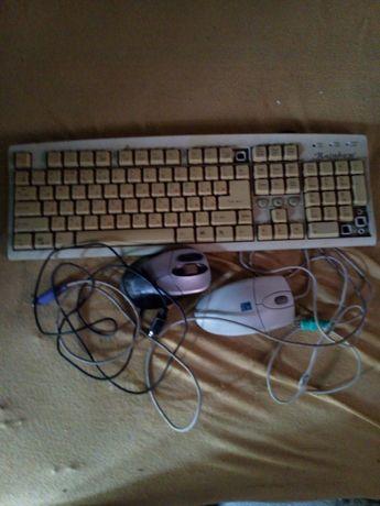 2 мишки і клавіатура
