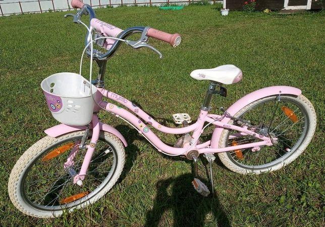 Детский велосипед розовый для девочек