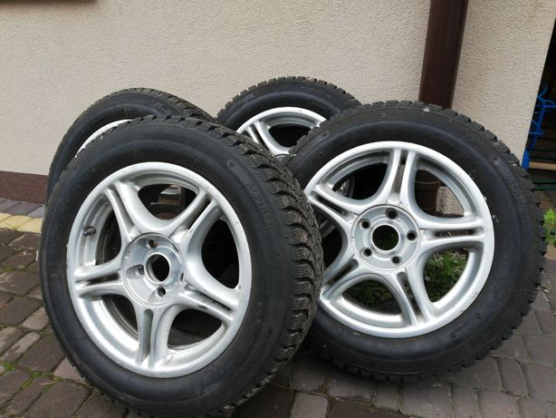 Felgi aluminiowe KBA43268 z oponami Colins Alpiner 215/55 R16 93H 4610