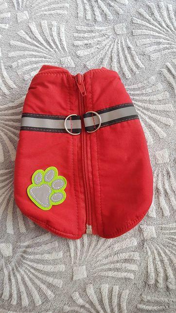 Nowe ubranko kurteczka na polarku mini dla psa