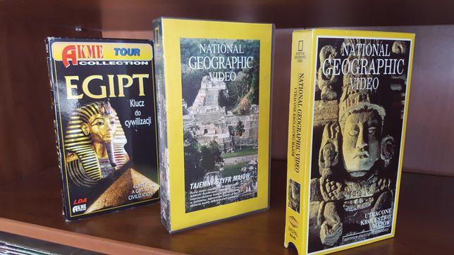Starożytne cywilizacje  Egipt  Majowie  kaseta VHS