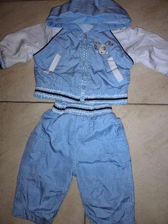 Kurtka i spodnie dla chłopca, rozmiar 6-9m-cy,wysyłka 1zl