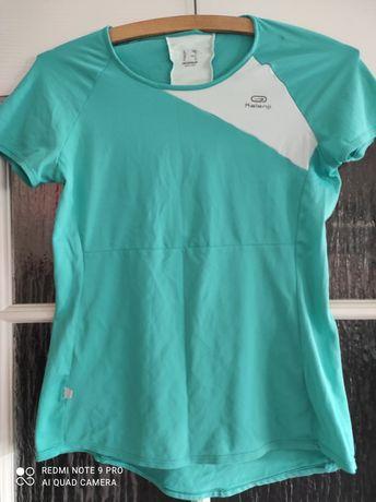 Dwie bluzeczki sportowe Decathlon r.S