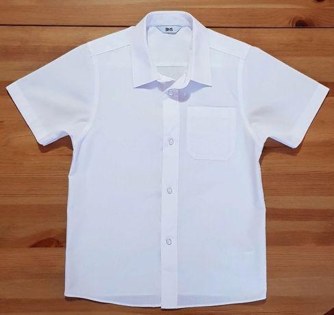 Рубашка в школу с коротким рукавом для мальчика 7 лет
