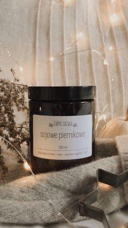 Sojowa świeca zapachowa Take Soya SOJOWE PIERNIKOWE + GRATIS