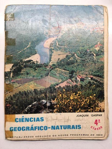 Livro - Ciências Geográfico-Naturais (4ª Classe)