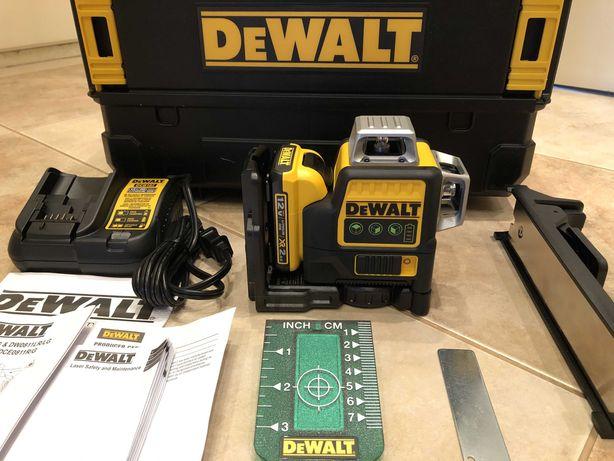 Dewalt DW089LG 3*360 Green лазерний нівелір з США ОРИГІНАЛ