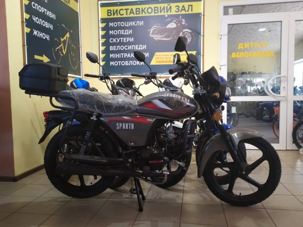 мопед Sparta Lux 125