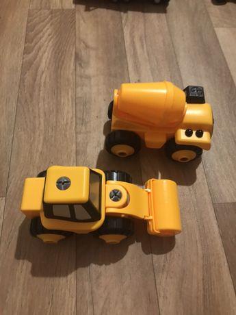 Продам 3 машинки-конструкторы