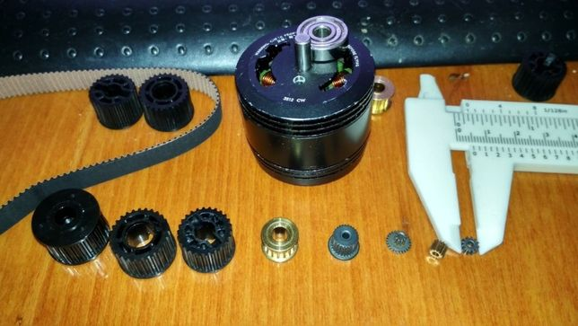 Пиньон шестерня шкив GT2 принтера IR 5075 Minolta Xerox 3d принтера