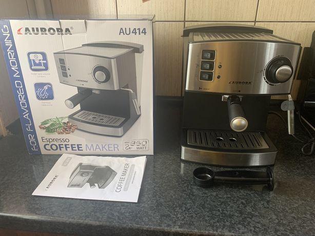 Кофеварка / кофемашина/ Капучино/ Aurora AU 414