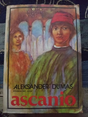 Książka Ascanio Aleksander Dumas