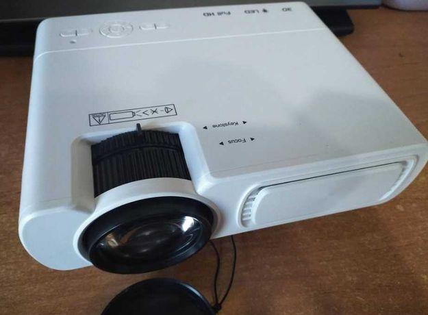 проектор домашний T5 на 2600люмен - видеопроектор 1080p, фильмы дома