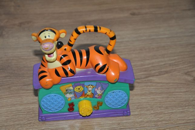 radio, radyjko tygrysek z Kubusia Puchatka