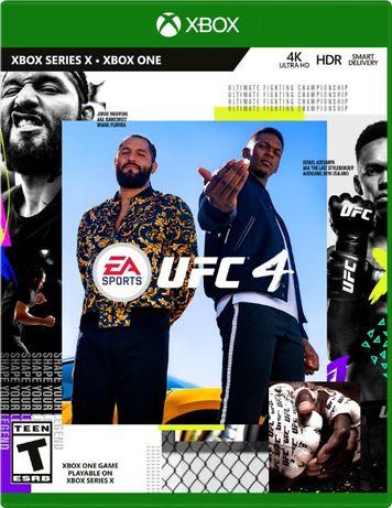 Игра для Xbox One UFC 4, гарантия, отзывы, скидки!