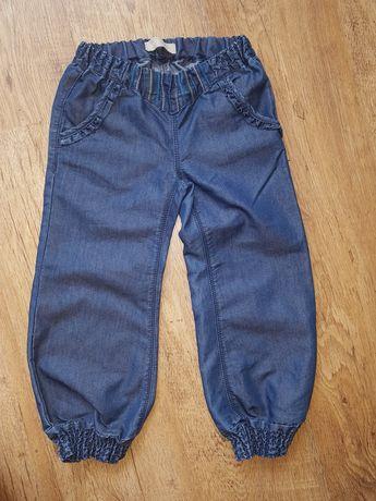 Spodnie cienkie jak nowe 104