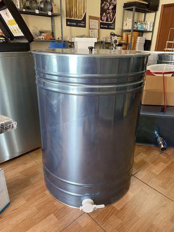 Ultimos bidons para mel de 400kg em inox