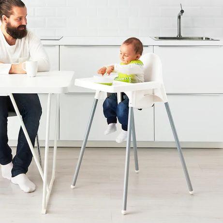 Стул (стульчик, стільчик) IKEA ANTILOP (Икеа Антилоп) со столешней