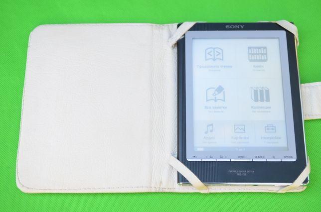 Электронная книга Sony Подсветка E-ink Алюм корпус чехол карта памяти
