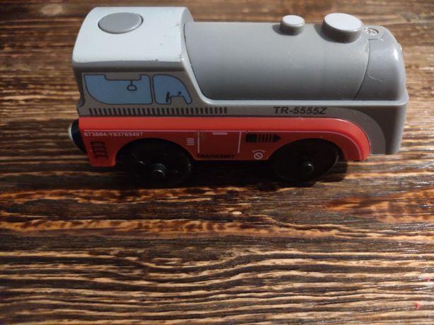 Поезд, потяг, деревянная железная дорога, дерев'яна залізна дорога