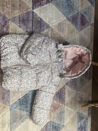 Kurtka kurteczka H&M 92 zimowa jesienna puchowa