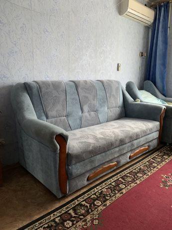 Диван и кресло-кровать (можно купить раздельно)
