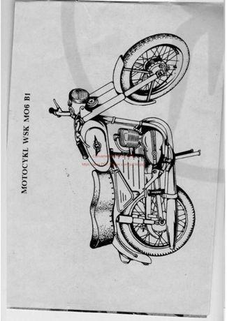 katalog części motocykla WSK M06B1