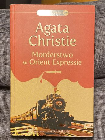 """""""Morderstwo w Orient Expressie"""" Agata Christie"""