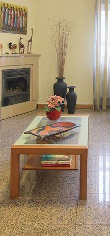 Mesa de centro madeira cerejeira maciça - Sala