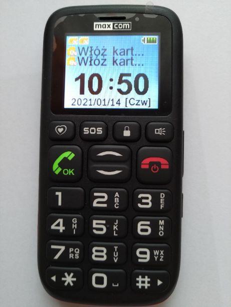Telefon dla Seniora MaxCom MM428BB