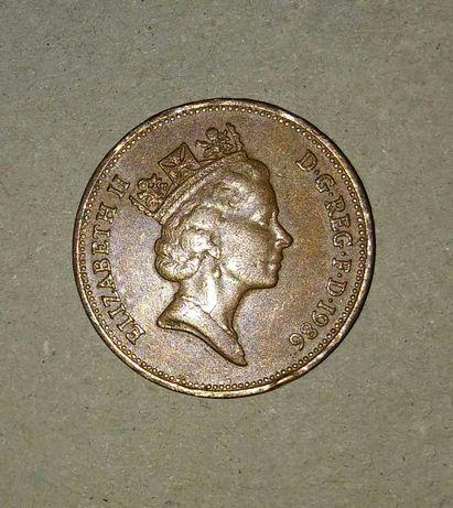 Moneta kolekcjonerska 1986 two pence Elizabeth II
