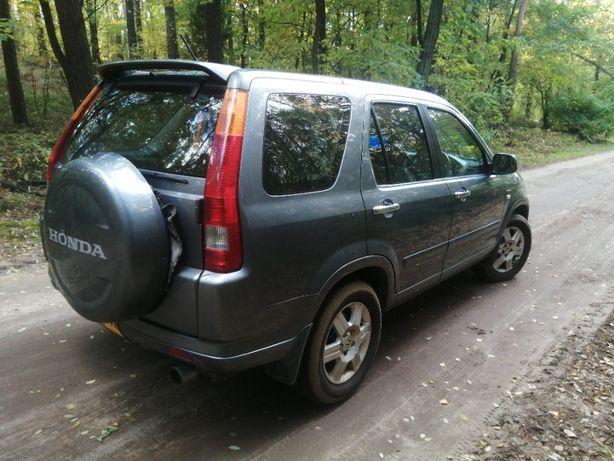Honda CRV-2.0 Benzyna 4X4-Automat-Anglik-Terenowy-SUV-Okazja