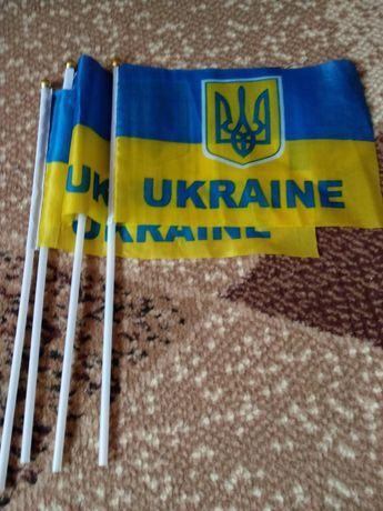 Прапорці України