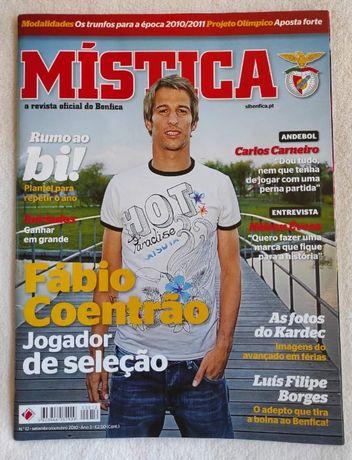 Revista Mistica- SLB - Setembro/Outubro 2010 - Fábio Coentrão