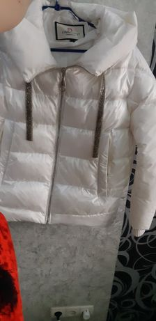 Куртка бойфренд  белая