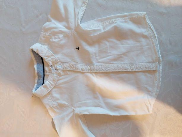 Biała koszula H&M r. 74