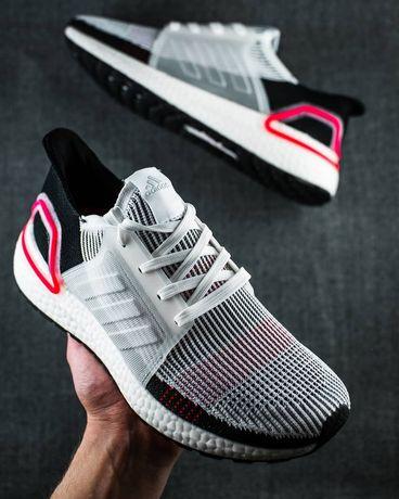 2расцветки! Adidas Ultraboost 19 40-45р легкие беговые спорт кроссовки