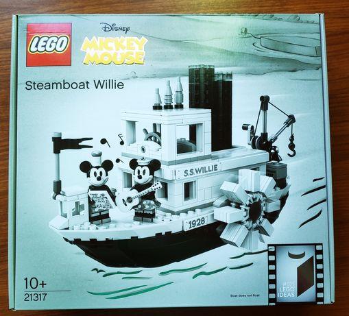 Promocja! Lego Ideas Disney 21317 Parowiec Willie Miki Mickey Nowy!