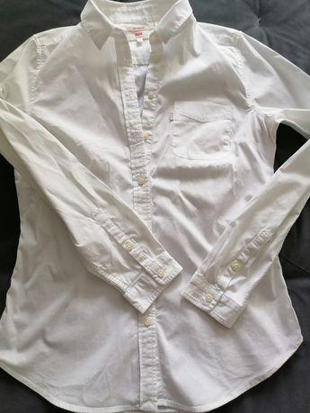 Levi's biała koszula damska rozmair 36