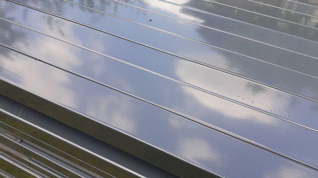 Słupki 60x40 TRANSPORT 2,4 m slupek do paneli ogrodzeniowych ral 7016