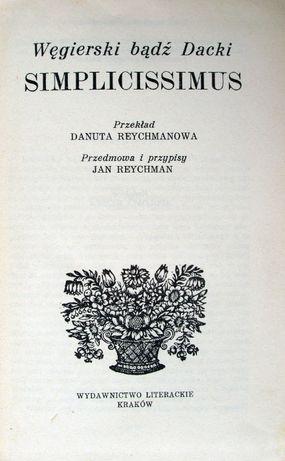 Simplicissimus Węgierski bądź Dacki. Opis zwiedzania Tatr w XVII wieku