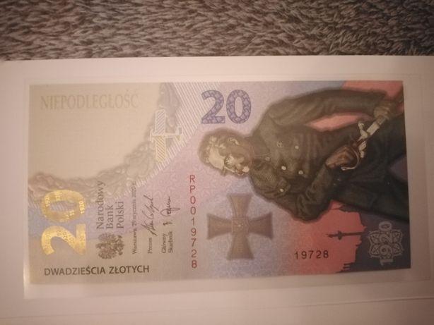 Banknot kolekcjonerski 20 zł