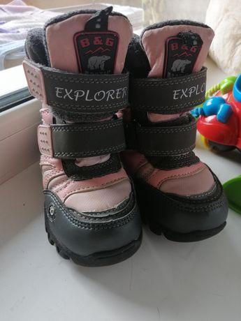 Зимние термо-ботинки B&G Arctic