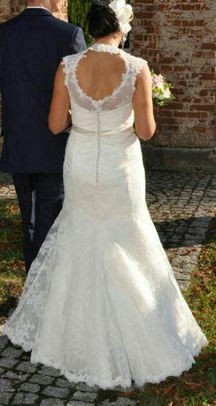 Suknia ślubna rozm M