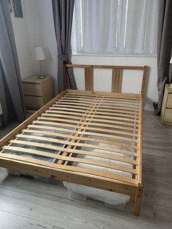 Łóżko ikea dwuosobowe 140x200