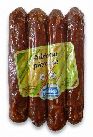 Włoska Kiełabasa Podsuszana Pikantna Salsiccia Dritte Piccante - 340g