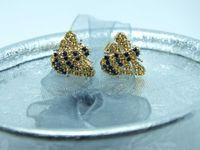 """** Złote kolczyki """"Pszczółki"""" 1,66g p.585-Lombard Stówka**"""