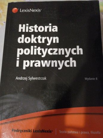 Historia doktryn politycznych i orawnych