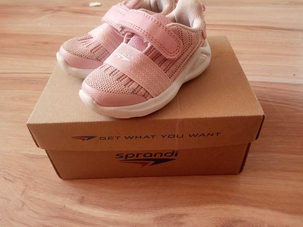 Buciki różowe dla dziewczynki